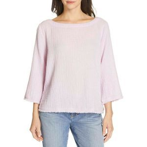 Eileen Fisher Organic Cotton Lofty Gauze Shirt XXS